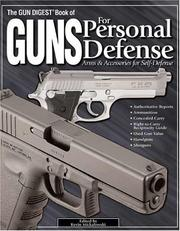 Cover of: The Gun Digest Book of Guns for Personal Defense | Kevin Michalowski