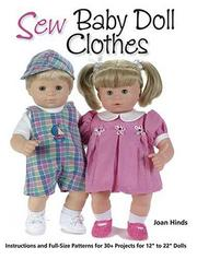 Cover of: Sew Baby Doll Clothes