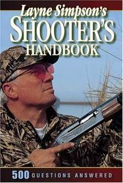 Cover of: Layne Simpson's Shooter's Handbook