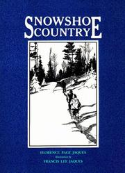 Cover of: Snowshoe country
