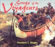 Cover of: Songs of the Voyageurs