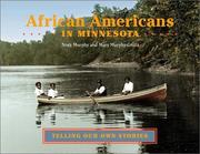 Cover of: African Americans in Minnesota | Nora Murphy
