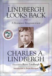 Cover of: Lindbergh Looks Back