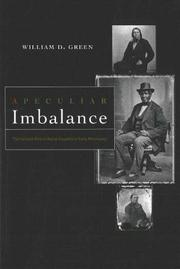 Cover of: A Peculiar Imbalance