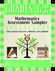 Cover of: Mathematics Assessment Sampler, Grades 6-8