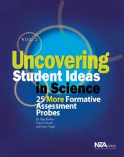 Cover of: Uncovering Student Ideas in Science Vol 2 | Page Keeley