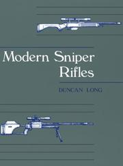 Cover of: Modern sniper rifles