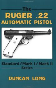 Cover of: The Ruger .22 automatic pistol