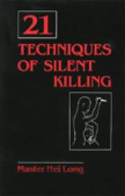 Cover of: 21 techniques of silent killing