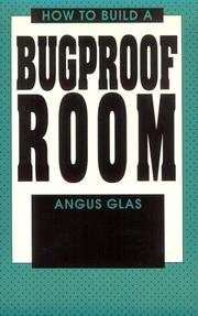 Cover of: How to build a bugproof room