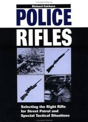 Cover of: Police Rifles