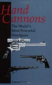 Cover of: Hand cannons