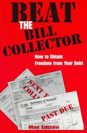 Cover of: Beat the bill collector