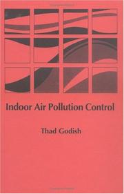 Cover of: Indoor air pollution control | Thad Godish
