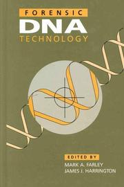 Cover of: Forensic DNA Technology | Mark A. Farley