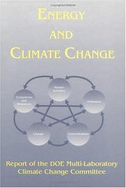 Cover of: Energy and Climate Change