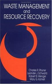 Cover of: Waste management and resource recovery |