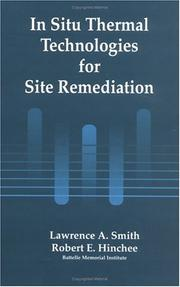 Cover of: In Situ Thermal Technologies for Site Remediation