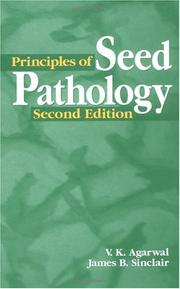 Cover of: Principles of seed pathology