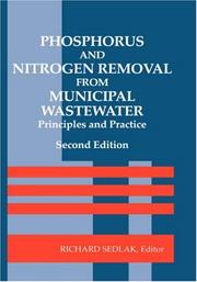 Cover of: Phosphorus and Nitrogen Removal from Municipal Wastewater
