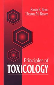 Cover of: Principles of toxicology