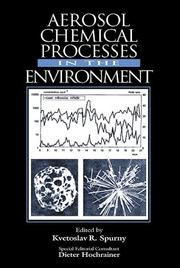 Cover of: Aerosol Chemical Processes in the Environment