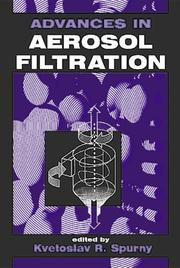 Cover of: Advances in Aerosol Gas Filtration
