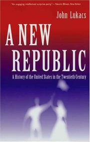 Cover of: A New Republic
