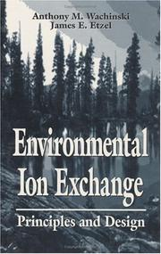 Cover of: Environmental ion exchange