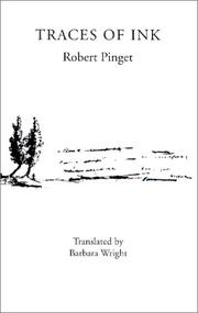 Cover of: Traces of Ink | Robert Pinget