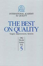 Cover of: The Best on Quality (Vol 5)