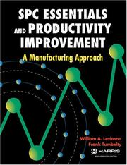 Cover of: SPC essentials and productivity improvement