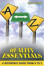 Cover of: Quality Essentials