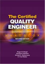 The Certified Quality Engineer Handbook, Second Edition by