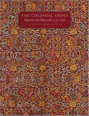 Cover of: The Colonial Andes | Elena Phipps