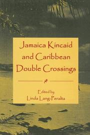 Cover of: Jamaica Kincaid And Caribbean Double Crossings
