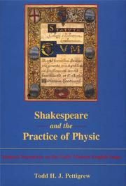Cover of: Shakespeare and the Practice of Physic