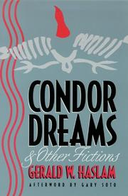 Cover of: Condor dreams & other fictions