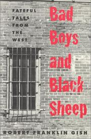 Cover of: Bad boys and black sheep
