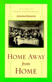 Cover of: Home away from home