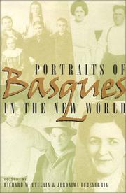 Cover of: Portraits of Basques in the New World