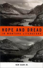 Cover of: Hope and dread in Montana literature