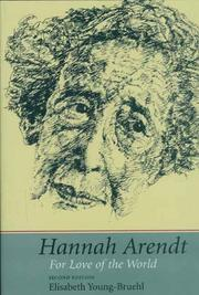 Hannah Arendt by Elisabeth Young-Bruehl