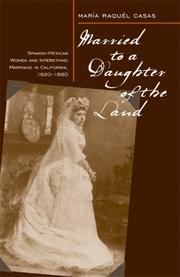 Cover of: Married to a Daughter of the Land