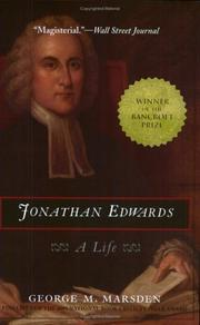 Cover of: Jonathan Edwards
