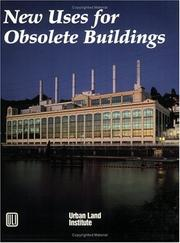 Cover of: New uses for obsolete buildings | Jo Allen Gause