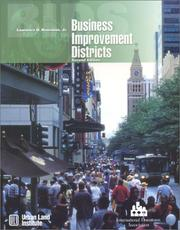 Cover of: Business Improvement Districts