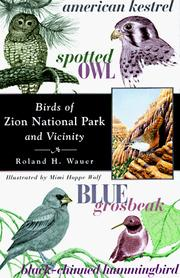 Cover of: Birds of Zion National Park and vicinity