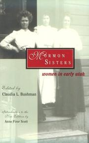 Cover of: Mormon Sisters