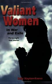 Cover of: Valiant Women in War and Exile